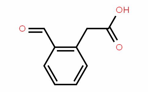 Benzeneacetic acid, 2-formyl-