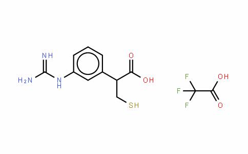 Benzeneacetic acid, 3-[(aMinoiMinoMethyl)aMino]-a-(MercaptoMethyl)-, CF3COOH slat