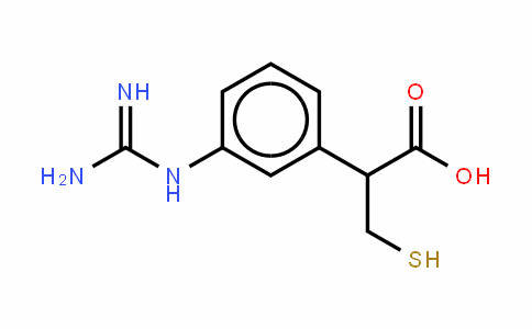 Benzeneacetic acid, 3-[(aMinoiMinoMethyl)aMino]-α-(MercaptoMethyl)-, (+)-