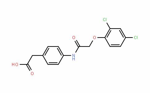 Benzeneacetic acid, 4-[[2-(2,4-Dichlorophenoxy)acetyl]amino]-