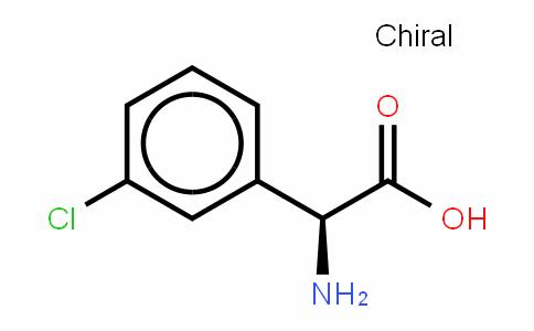Benzeneacetic acid,α-aMino-3-chloro-,(S)-