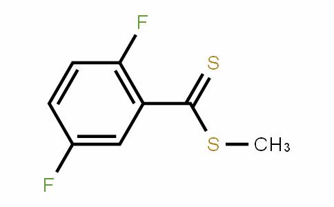 BenzenecarboDithioic acid, 2,5-Difluoro-, methyl ester