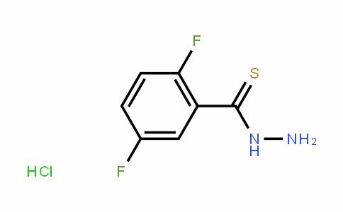 Benzenecarbothioic acid, 2,5-Difluoro-, hyDraziDe, hyDrochloriDe (1:1)