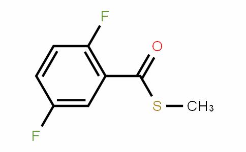 Benzenecarbothioic acid, 2,5-Difluoro-, S-methyl ester