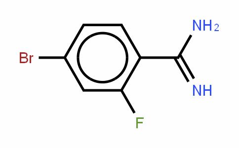 BenzenecarboximiDamiDe, 4-bromo-2-fluoro- (hyDrochloriDe)(1:1)
