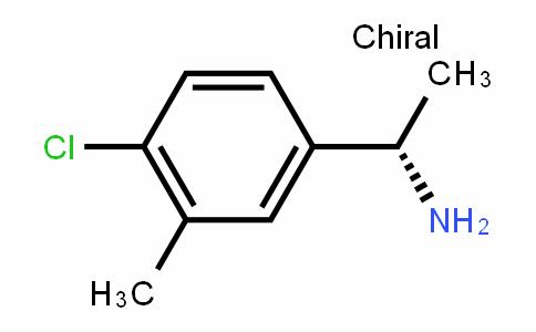BenzeneMethanaMine, 4-chloro-α,3-DiMethyl-, (αS)-