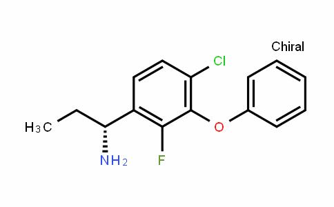 BenzeneMethanaMine, 4-chloro-α-ethyl-2-fluoro-3-phenoxy-, (αR)-
