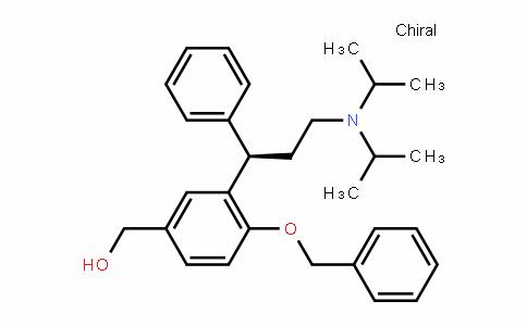 Benzenemethanol, 3-[(1R)-3-[bis(1-methylethyl)amino]-1-phenylpropyl]-4-(phenylmethoxy)-