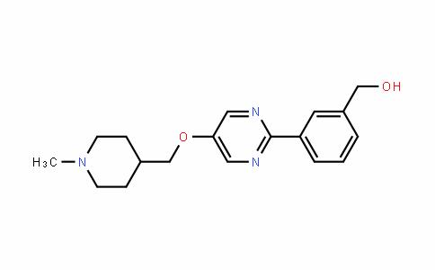 Benzenemethanol, 3-[5-[(1-methyl-4-piperiDinyl)methoxy]-2-pyrimiDinyl]-