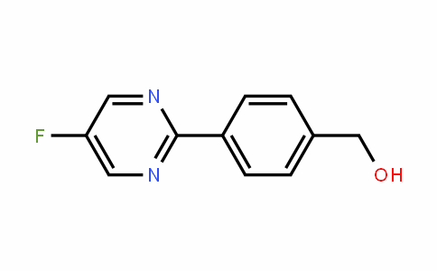 Benzenemethanol, 4-(5-fluoro-2-pyrimiDinyl)-