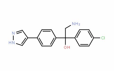 BenzeneMethanol, α-(aMinoMethyl)-α-(4-chlorophenyl)-4-(1H-pyrazol-4-yl)-