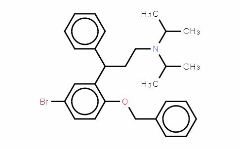 Benzenepropanamine, 5-bromo-N,N-bis(1-methylethyl)-g-phenyl-2-(phenylmethoxy)-, (±)-