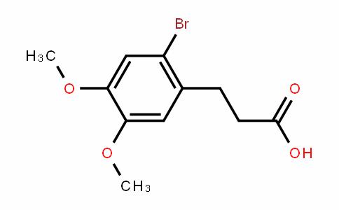 3-(2-溴-4,5-二甲氧基苯基)丙酸