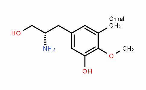 Benzenepropanol, β-aMino-3-hyDroxy-4-Methoxy-5-Methyl-, (βS)-