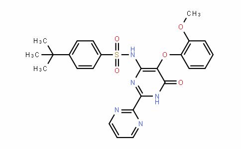 BenzenesulfonamiDe, N-[1,6-DihyDro-5-(2-methoxyphenoxy)-6-oxo[2,2'-bipyrimiDin]-4-yl]-4-(1,1-Dimethylethyl)-