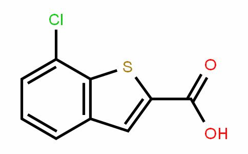 Benzo[b]thiophene-2-carboxylic acid, 7-chloro-