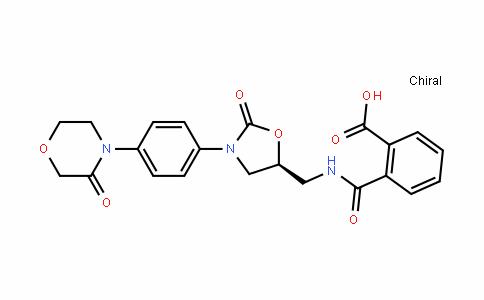 Benzoic acid, 2-[[[[(5S)-2-oxo-3-[4-(3-oxo-4-morpholinyl)phenyl]-5-oxazoliDinyl]methyl]amino]carbonyl]-