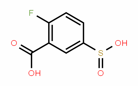 Benzoic acid, 2-fluoro-5-sulfino-