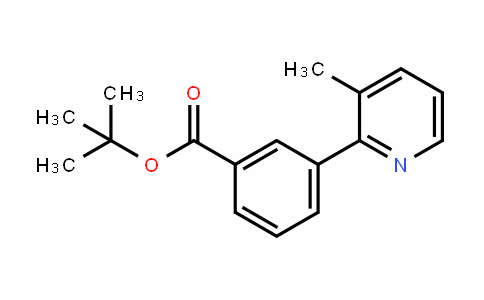 Benzoic acid, 3-(3-methyl-2-pyriDinyl)-, 1,1-Dimethylethyl ester