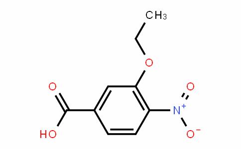 Benzoic acid, 3-ethoxy-4-nitro- (9CI)