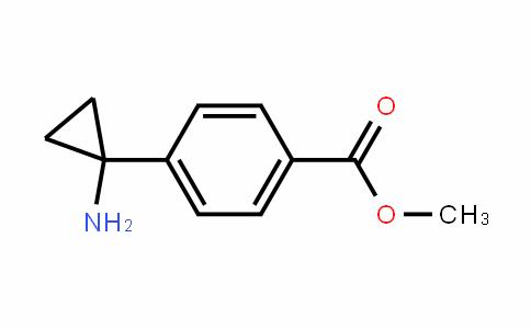 Benzoic acid, 4-(1-aminocyclopropyl)-, methyl ester