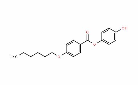 Benzoic acid, 4-(hexyloxy)-, 4-hyDroxyphenyl ester