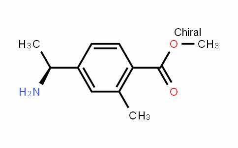 Benzoic acid, 4-[(1S)-1-aMinoethyl]-2-Methyl-, Methyl ester