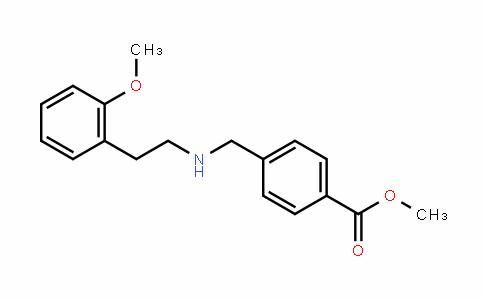 Benzoic acid, 4-[[[2-(2-methoxyphenyl)ethyl]amino]methyl]-, methyl ester