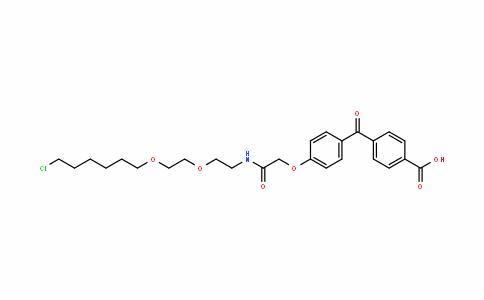 Benzoic acid, 4-[4-[2-[[2-[2-[(6-chlorohexyl)oxy]ethoxy]ethyl]aMino]-2-oxoethoxy]benzoyl]-