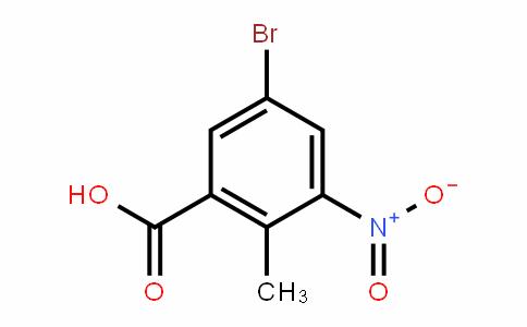 Benzoic acid, 5-bromo-2-methyl-3-nitro-