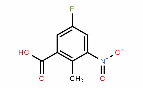 5-氟-2-甲基-3-硝基苯甲酸甲酯