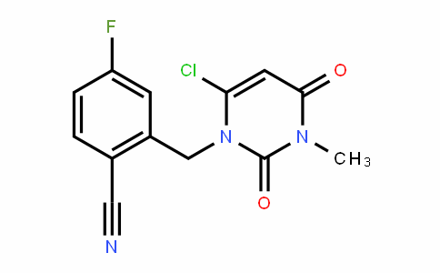 Benzonitrile, 2-[(6-chloro-3,4-DihyDro-3-methyl-2,4-Dioxo-1(2H)-pyrimiDinyl)methyl]-4-fluoro-