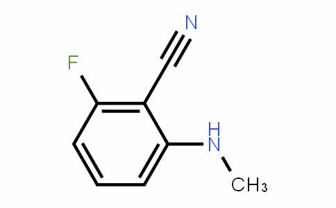 Benzonitrile, 2-fluoro-6-(methylamino)-