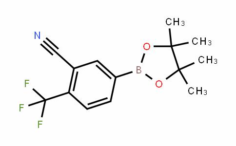 Benzonitrile, 5-(4,4,5,5-tetramethyl-1,3,2-Dioxaborolan-2-yl)-2-(trifluoromethyl)-