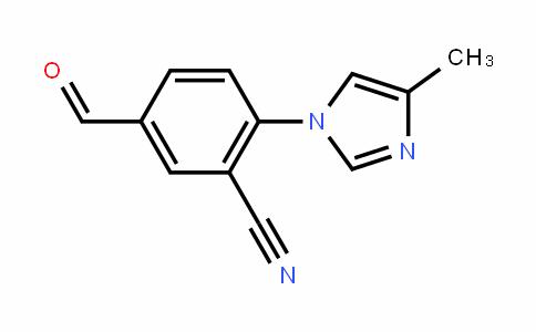 Benzonitrile, 5-formyl-2-(4-methyl-1H-imiDazol-1-yl)-