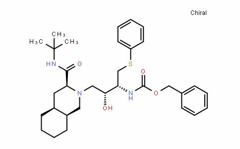 benzyl ((2R,3R)-4-((3S,4aS,8aS)-3-(Tert-butylcarbaMoyl)octahyDroisoquinolin-2(1H)-yl)-3-hyDroxy-1-(phenylthio)butan-2-yl)carbaMate