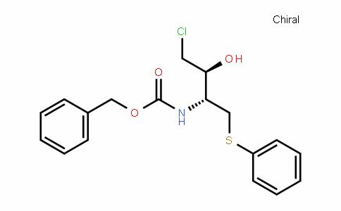benzyl ((2R,3S)-4-chloro-3-hyDroxy-1-(phenylthio)butan-2-yl)carbamate