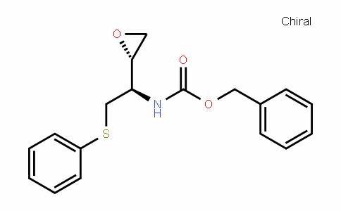 benzyl ((R)-1-((S)-oxiran-2-yl)-2-(phenylthio)ethyl)carbaMate