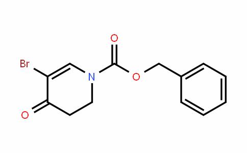 benzyl 5-broMo-4-oxo-3,4-DihyDropyriDine-1(2H)-carboxylate