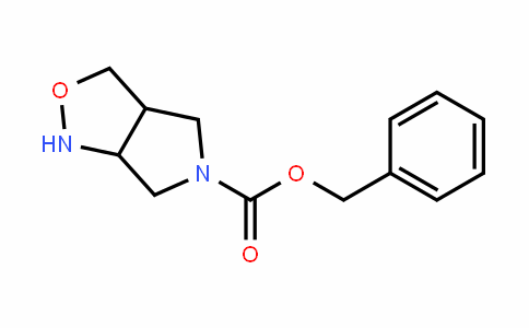 benzyl tetrahyDro-1H-pyrrolo[3,4-c]isoxazole-5(3H)-carboxylate