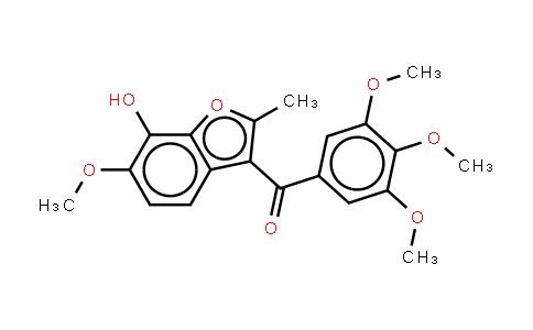 [6-甲氧基-2-甲基-7-(磷酰氧基)-3-苯并呋喃基](3,4,5-三甲氧基苯基)甲酮钠盐