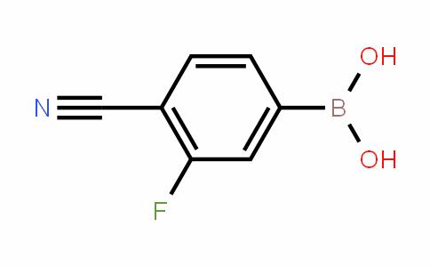 Boronic acid, B-(4-cyano-3-fluorophenyl)-