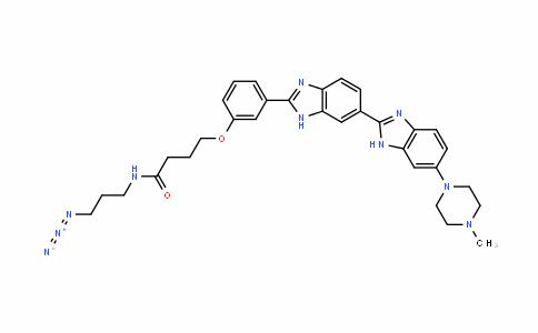 ButanaMiDe, N-(3-aziDopropyl)-4-[3-[6-(4-Methyl-1-piperazinyl)[2,6'-bi-1H-benziMiDazol]-2'-yl]phenoxy]-