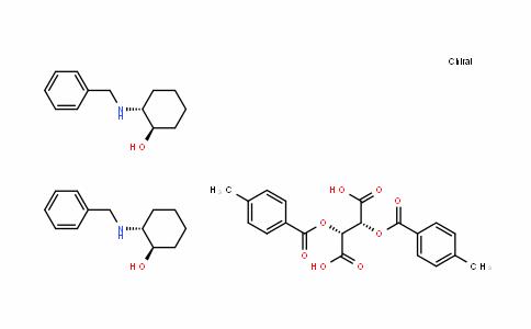 ButaneDioic acid, 2,3-bis[(4-methylbenzoyl)oxy]-, (2R,3R)-, compD. with (1R,2R)-2-[(phenylmethyl)amino]cyclohexanol (1:2)
