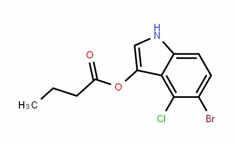 Butanoic acid, 5-bromo-4-chloro-1H-inDol-3-yl ester