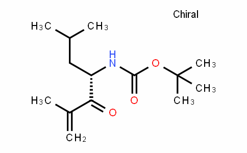Carbamic acid, [(1S)-3-methyl-1-(2-methylpropyl)-2-oxo-3-butenyl]-, 1,1-Dimethylethyl ester (9CI)