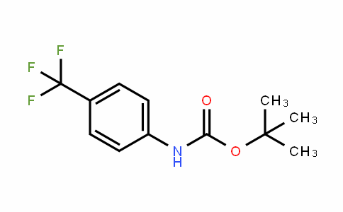 Carbamic acid, [4-(trifluoromethyl)phenyl]-, 1,1-Dimethylethyl ester