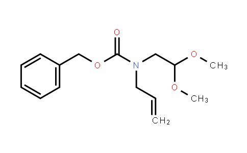 Carbamic acid, N-(2,2-Dimethoxyethyl)-N-2-propen-1-yl-, phenylmethyl ester
