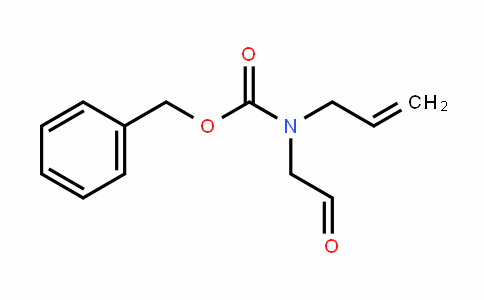 Carbamic acid, N-(2-oxoethyl)-N-2-propen-1-yl-, phenylmethyl ester