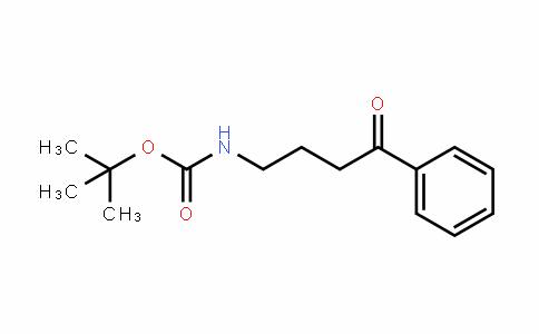 Carbamic acid, N-(4-oxo-4-phenylbutyl)-, 1,1-Dimethylethyl ester